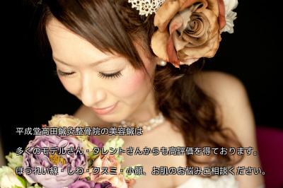 美容鍼灸ブライダルエステ豊島区文京区新宿区耳つぼダイエット