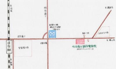 竹田竜太鍼灸整骨院アクセス地図